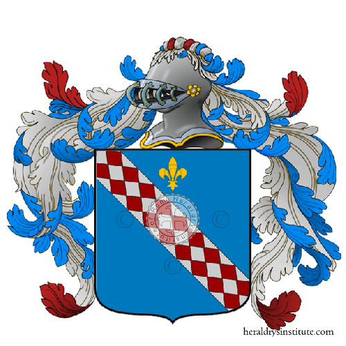 Coat of Arms of family Vanza