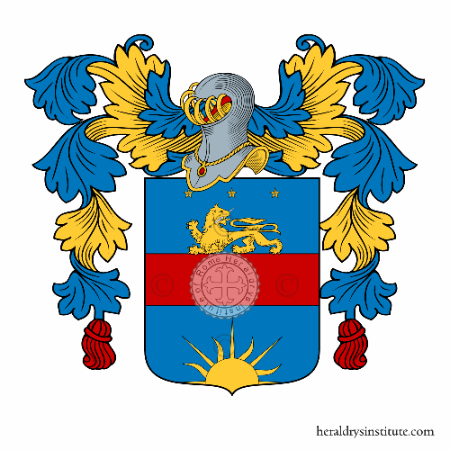 Coat of Arms of family Vinciani