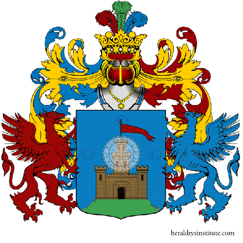Coat of Arms of family Romanno