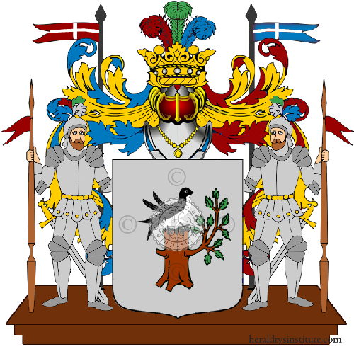 Coat of Arms of family Nona