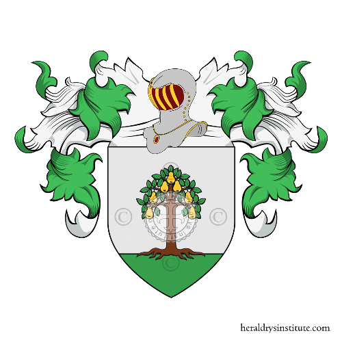 Coat of Arms of family Pirasso