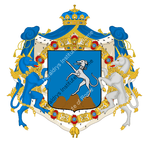 Coat of Arms of family Tierino