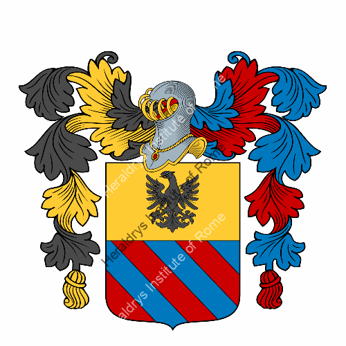 Coat of arms of family Zannoni