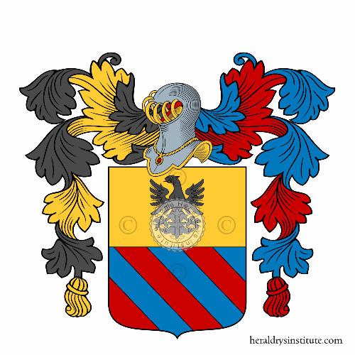 Coat of arms of family Zannonni