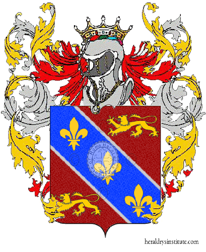 Coat of Arms of family Nicolette
