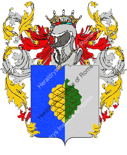 Coat of Arms of family Pignarca