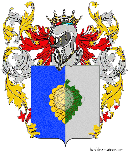 Coat of Arms of family Pignarosa