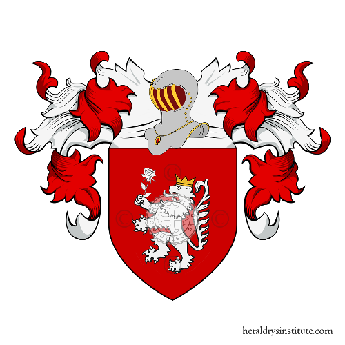 Coat of Arms of family Melega