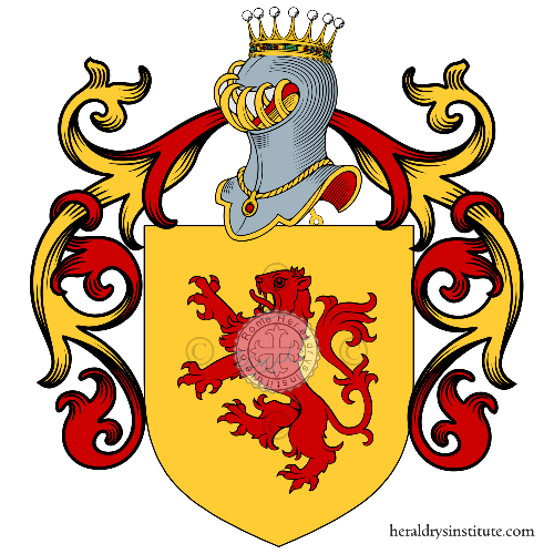 Coat of Arms of family Perrella