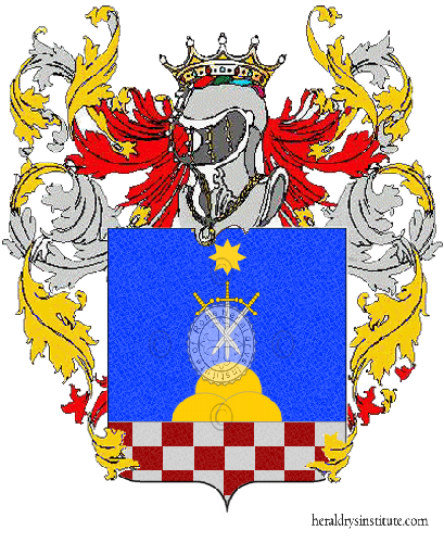 Coat of Arms of family Pistolese