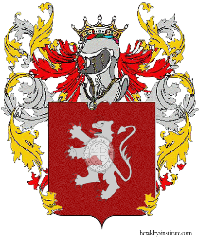 Coat of Arms of family Rubolo