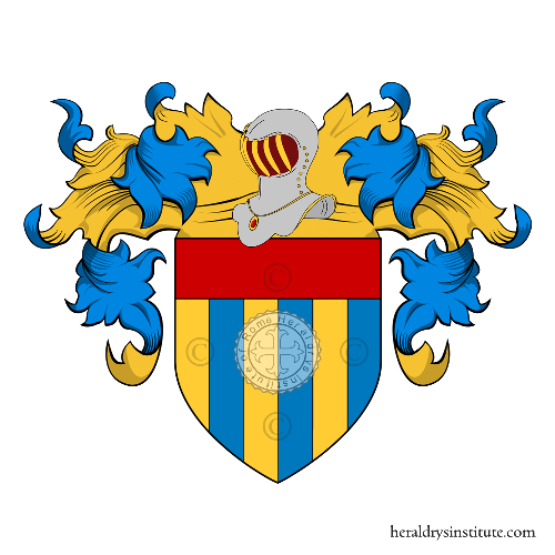 Coat of Arms of family Priuri, Priori (de')