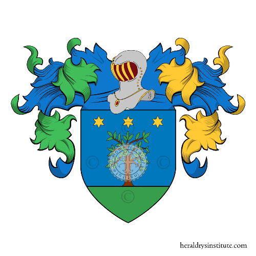 Coat of Arms of family Salvatoriello