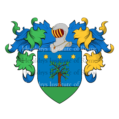 Coat of Arms of family Salvatorina