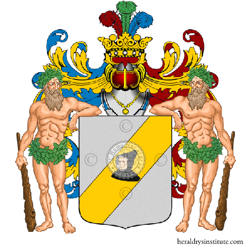 Coat of Arms of family Pappucci
