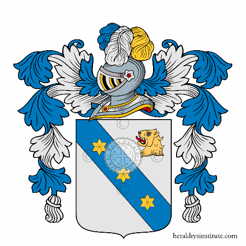 Coat of Arms of family Nacci