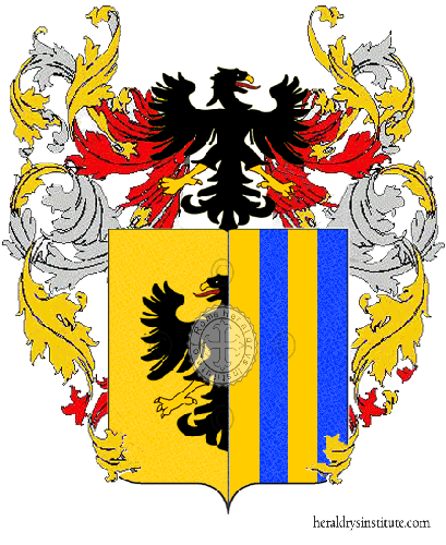 Coat of Arms of family Menghina