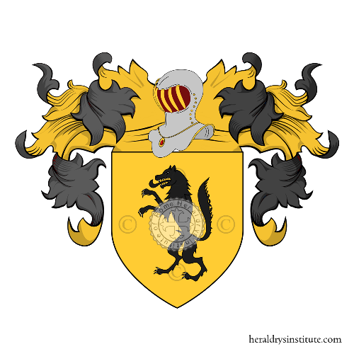 Coat of Arms of family Lobetti