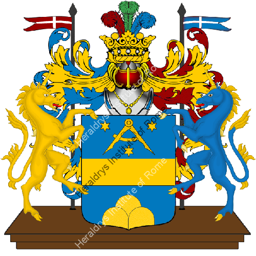 Coat of Arms of family Sferrara