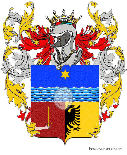 Coat of Arms of family Pagliana