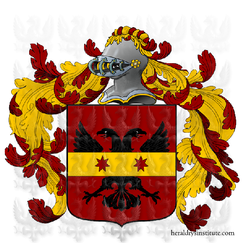 Coat of arms of family Siccoli