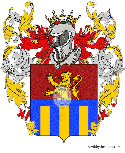 Coat of Arms of family Santozzi