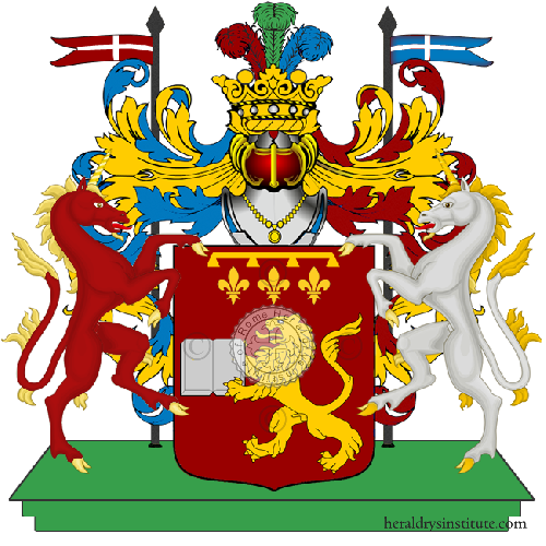 Coat of Arms of family Zogli