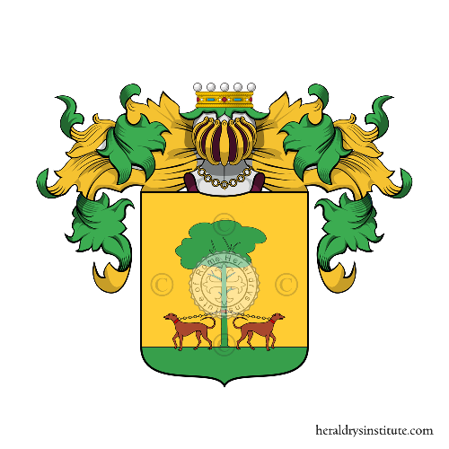 Coat of Arms of family Redini