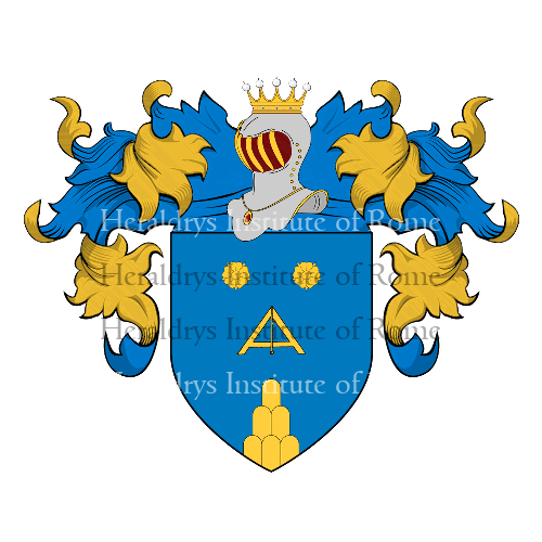 Coat of Arms of family Sbini