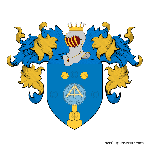 Coat of Arms of family Ubini