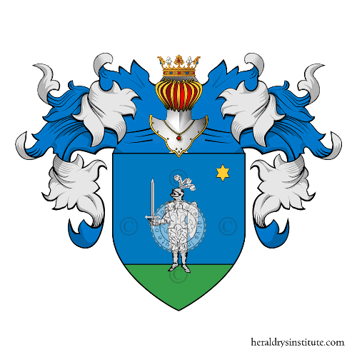 Coat of arms of family Del Piccolo