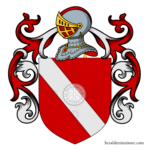 Coat of Arms of family Saccognia