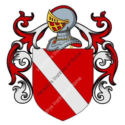 Coat of Arms of family Saccora