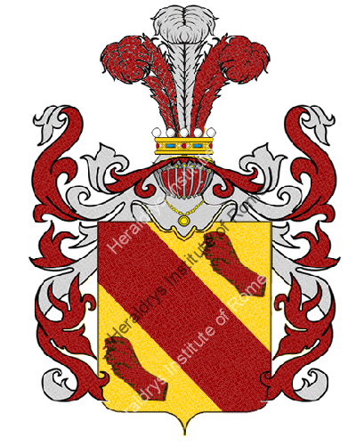 Coat of Arms of family Sagrini