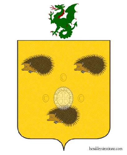 Coat of Arms of family Parenza