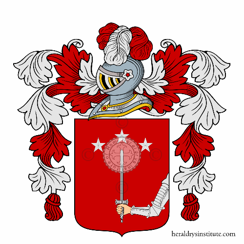 Coat of Arms of family Staini