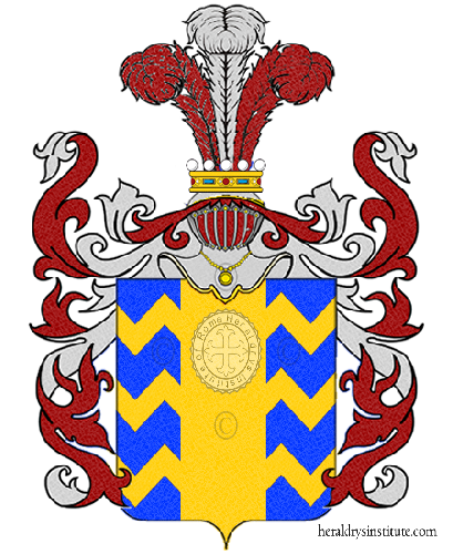 Coat of Arms of family Zadini