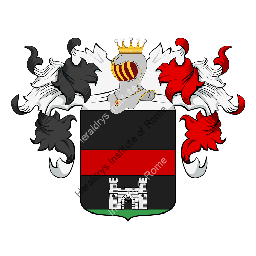 Coat of Arms of family Rigani