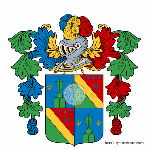 Coat of arms of family Conconi