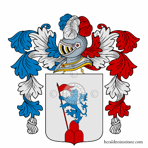 Coat of arms of family Snelli