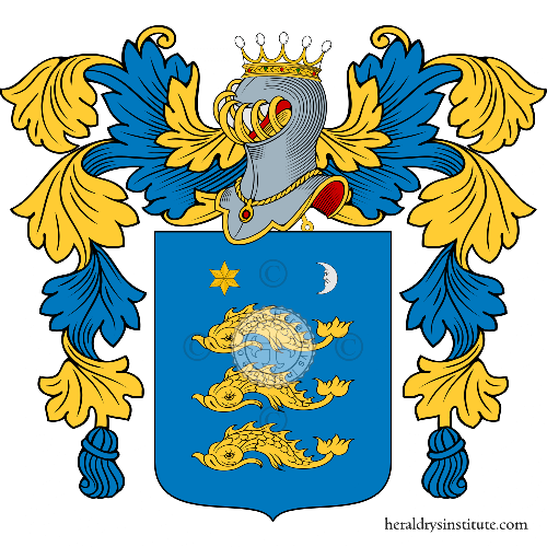 Coat of Arms of family Trande