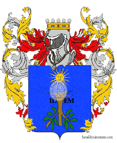 Coat of Arms of family Nauri