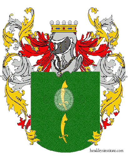 Coat of Arms of family Manfrellotti