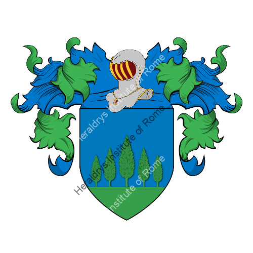 Coat of Arms of family Silvicola