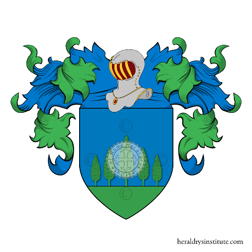 Coat of Arms of family Silvizio