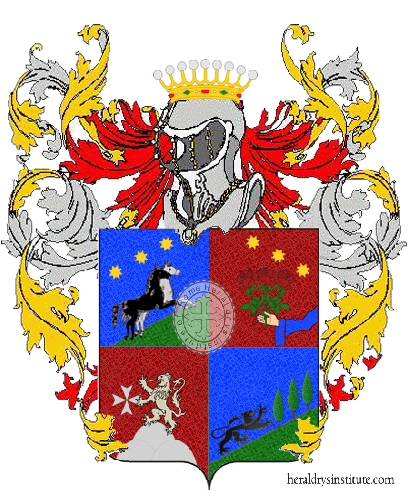 Coat of Arms of family Mattiolicortese