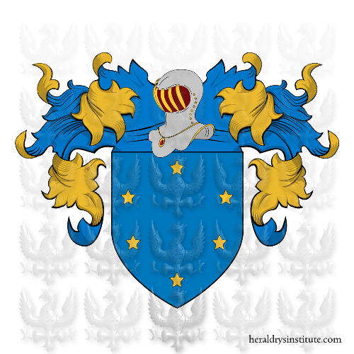 Coat of Arms of family Azzola