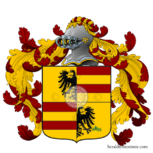 Coat of Arms of family Cassol