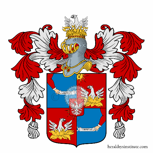 Coat of Arms of family Aruta