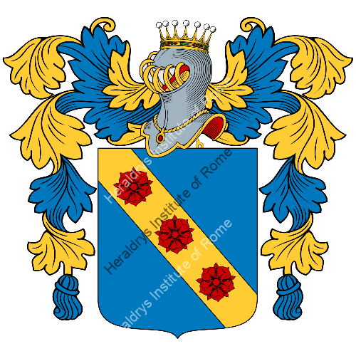 Coat of Arms of family De Cassan